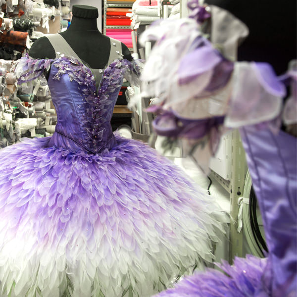 4eb9bfded5a7 Gabriela Tylesova's costume for the Lilac Fairy. Photography Kate Longley