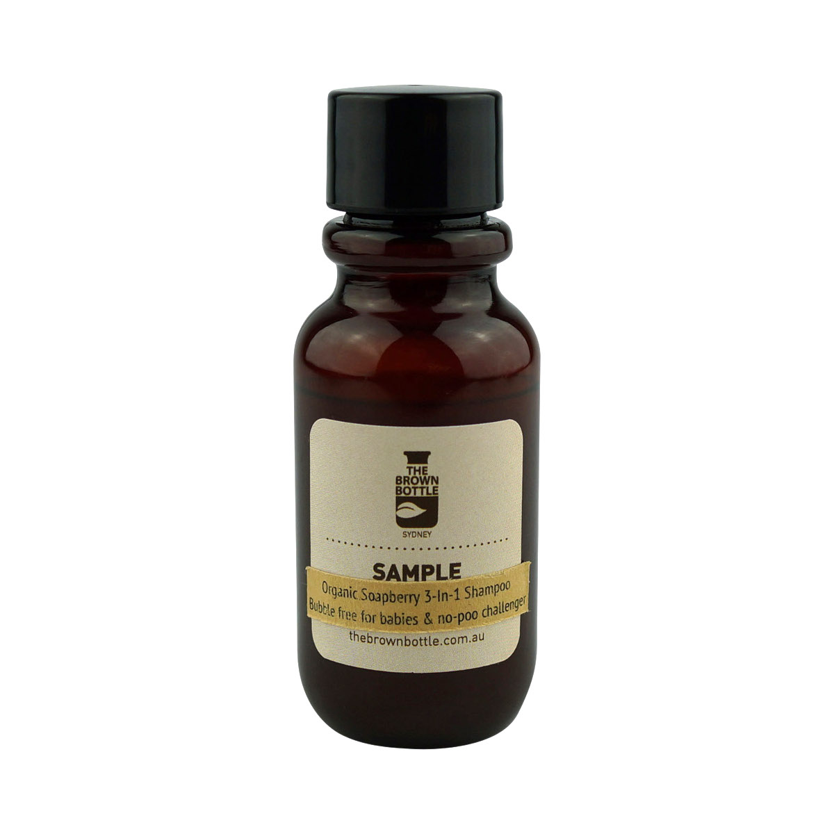 Receive a FREE Sample of Organic Soapberry 3-In-1 Shampoo