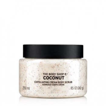 Coconut Exfoliating Cream Body Scrub 250ml