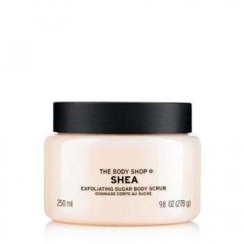 Shea Exfoliating Sugar Body Scrub 250ml