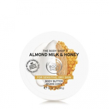ALMOND MILK & HONEY CALMING & PROTECTING BODY BUTTER 50ML