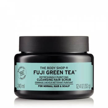 FUJI GREEN TEA™ REFRESHINGLY PURIFYING CLEANSING HAIR SCRUB 240ML