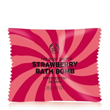 STRAWBERRY BATH BOMB 28G