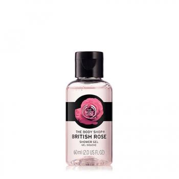British Rose Shower Gel 60ml