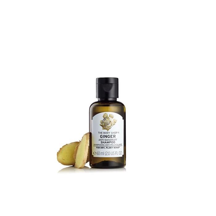 Ginger Scalp Care Shampoo 60ml The Body Shop Nz