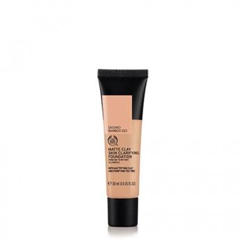 Matte Clay Skin Clarifying Foundation 023 SAGANO BAMBOO 30ML