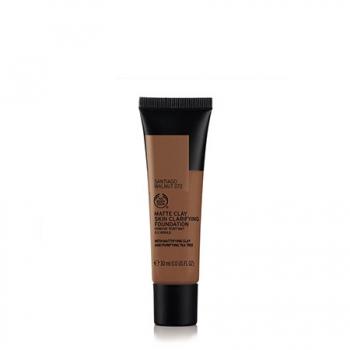 Matte Clay Skin Clarifying Foundation 072 SANTIAGO WALNUT 30ML