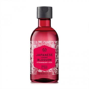 Japanese Cherry Blossom Strawberry Kiss Shower Gel 250ml