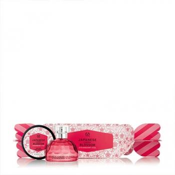 Japanese Cherry Blossom Strawberry Kiss EDT Gift Set