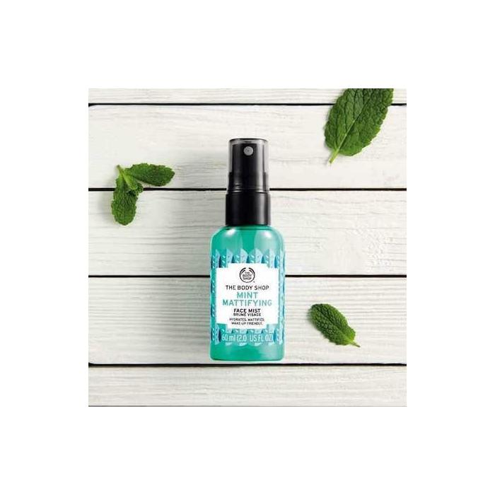 Mint Mattifying Face Mist 60ml The Body Shop Nz