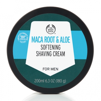 MACA ROOT & ALOE SOFTENING SHAVING CREAM FOR MEN 200ML