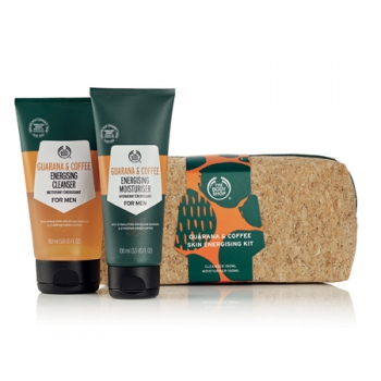Guarana & Coffee Skin Energising Kit