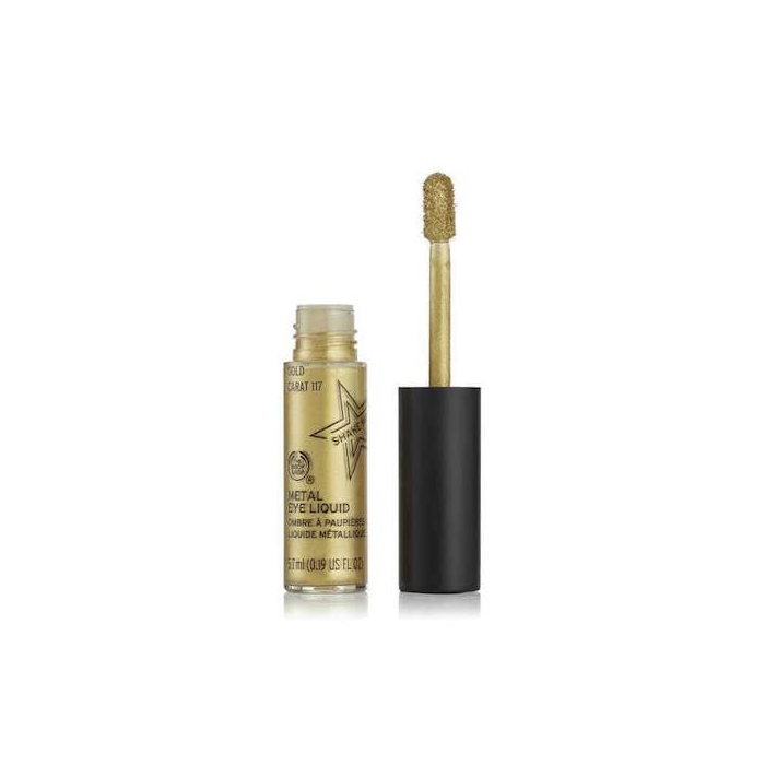 Metal Eye Liquid 8ml 117 Gold Carat The Body Shop Nz