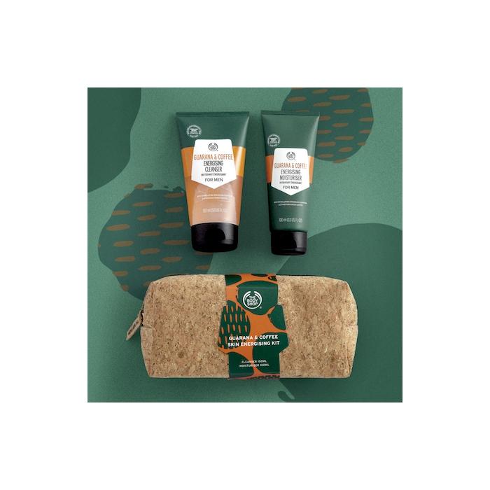 Guarana Amp Coffee Skin Energising Kit The Body Shop Nz