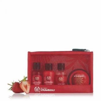 Strawberry Beauty Bag