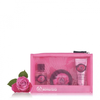 British Rose Beauty Bag