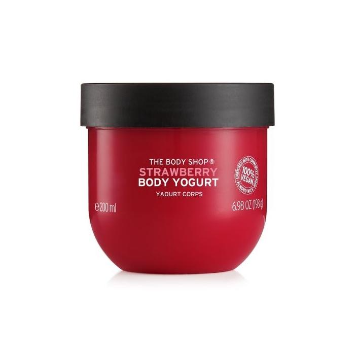 Strawberry Body Yogurt 200ml The Body Shop Nz