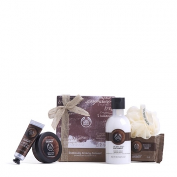 Exotically Creamy Coconut Pampering Essentials