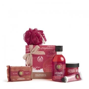 Juicy Strawberry Pampering Essentials