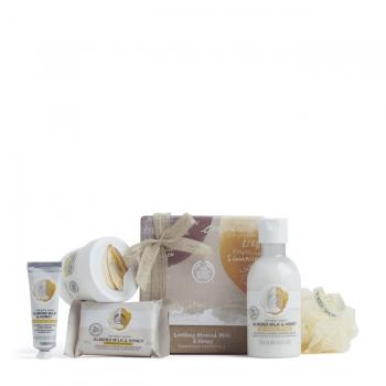 Soothing Almond Milk & Honey Pampering Essentials