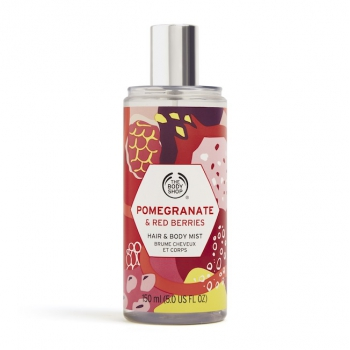 Pomegranate & Red Berries Hair & Body Mist 150ml