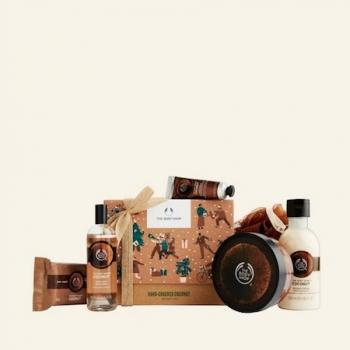 Hand-Cracked Coconut Big Gift Box