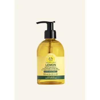 Lemon Moisturising & Cleansing Hand Gel 250ml