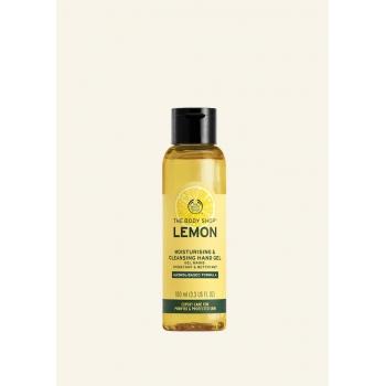 Lemon Moisturising & Cleansing Hand Gel 100ml