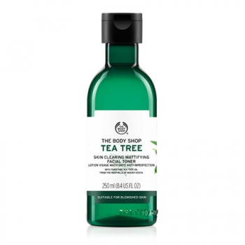TEA TREE SKIN CLEARING MATTIFYING FACIAL TONER 250ML