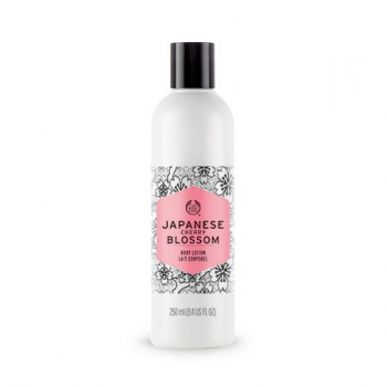 JAPANESE CHERRY BLOSSOM BODY LOTION 250ML