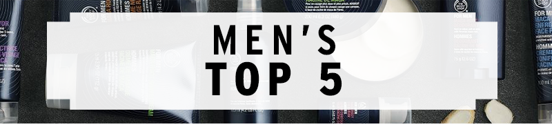Our Top 5 Men's Products