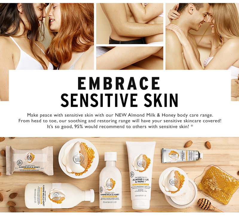 Embrace sensitive skin