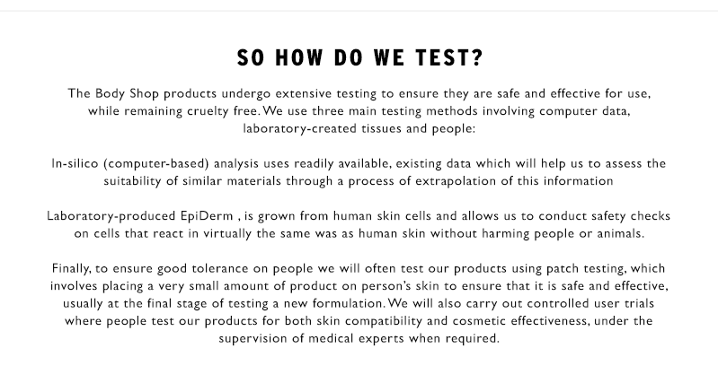 So how do we test?
