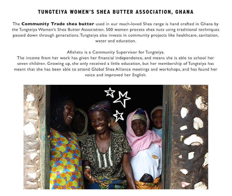 Learn more about Community Trade shea butter