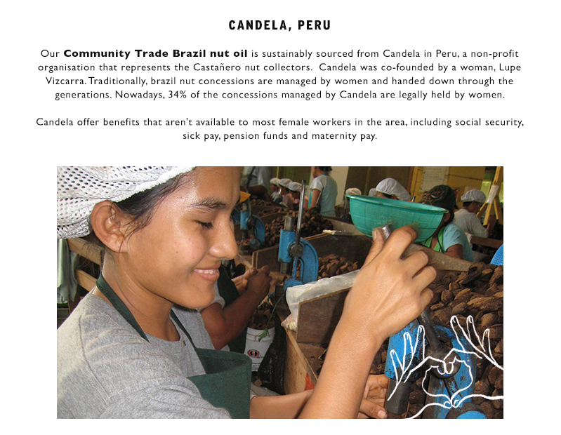 Learn more about Community Trade Brazil nut oil