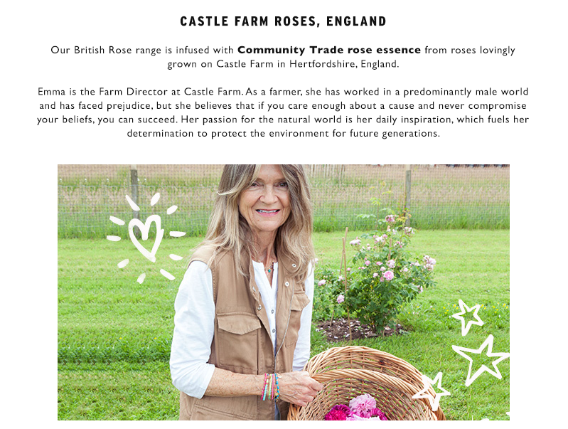Learn more about Community Trade rose