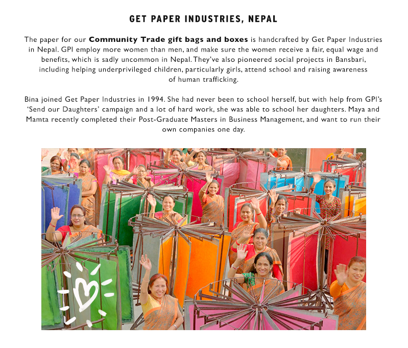 Learn more about Community Trade paper