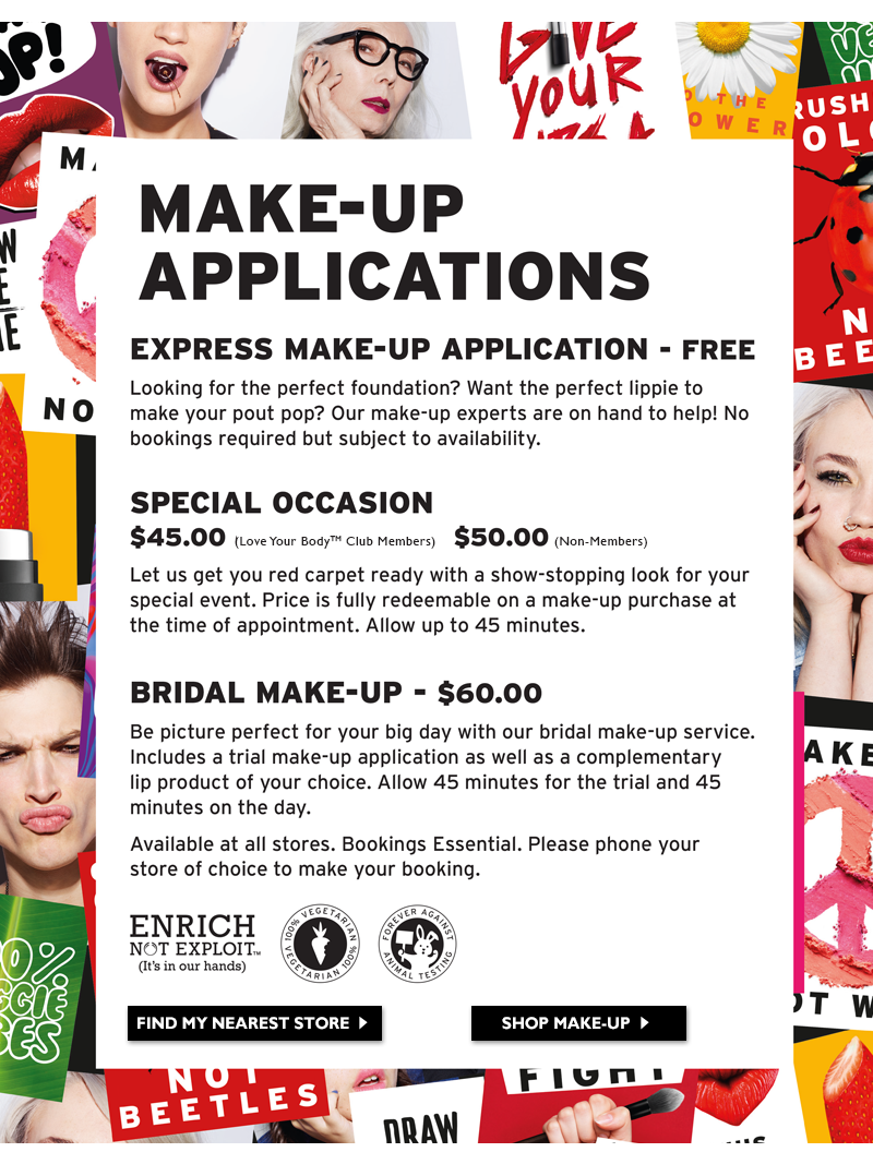 Make-Up Applications