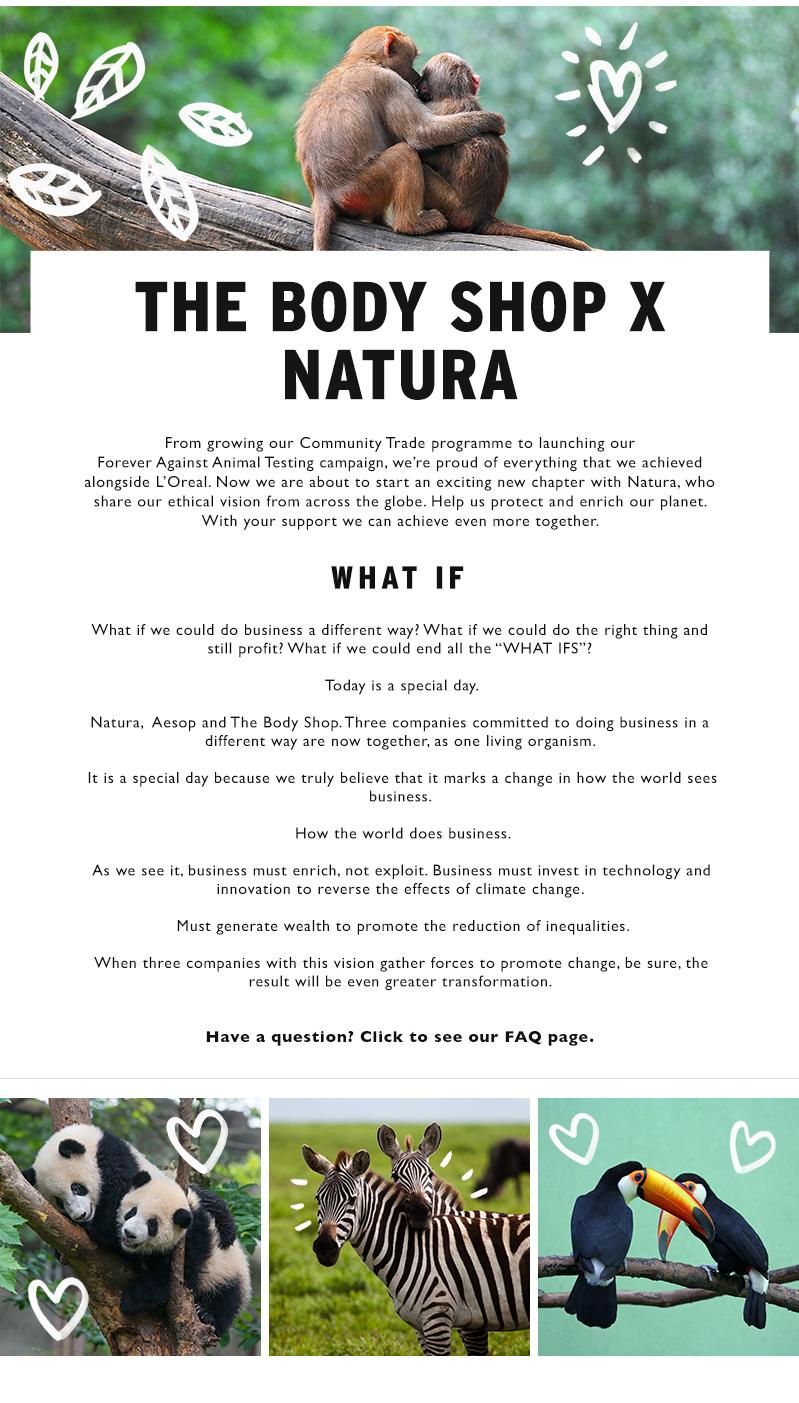 The Body Shop & Natura