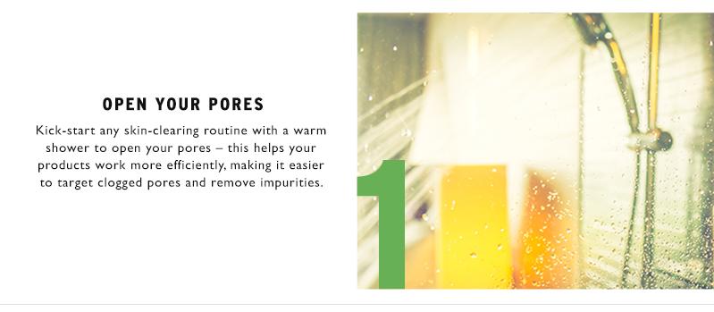 Open your pores