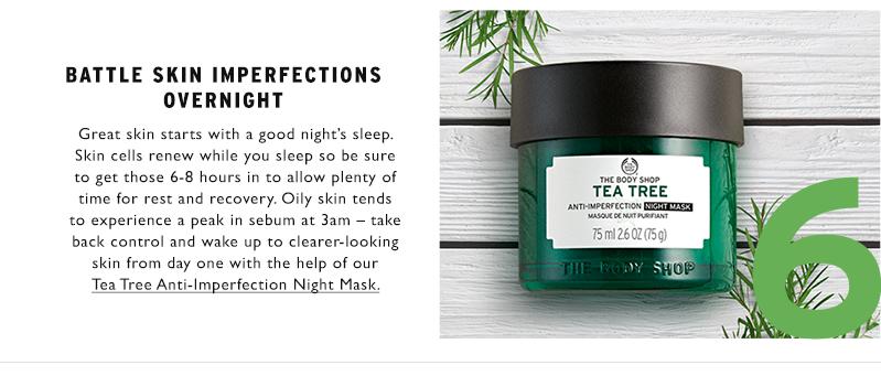 TEA TREE ANTI-IMPERFECTION NIGHT MASK 75ML