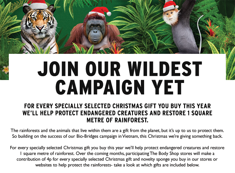 Join our wildest campaign yet!