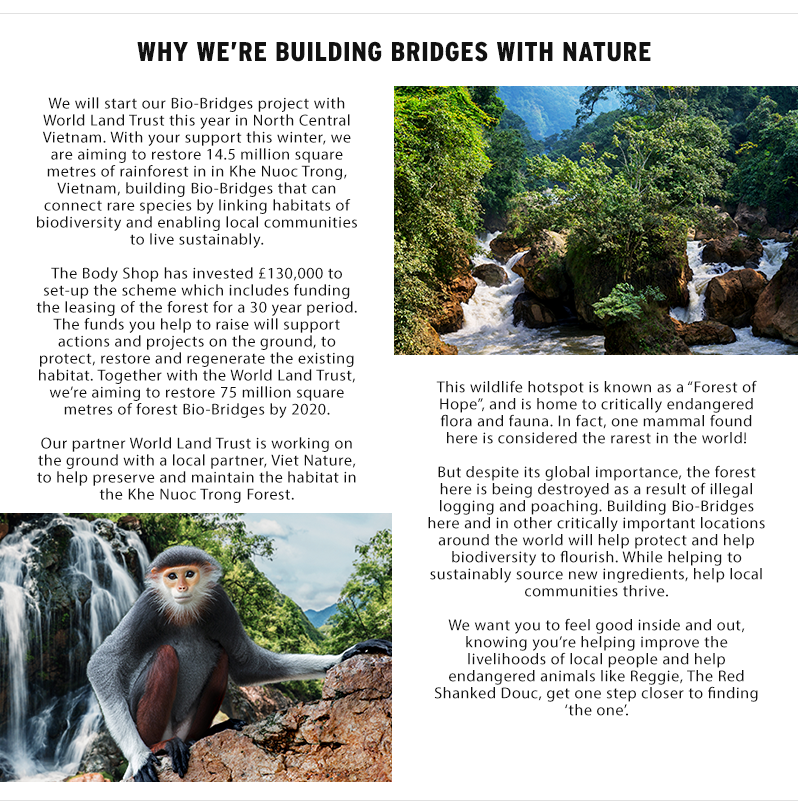 Why we're' building bridges with nature