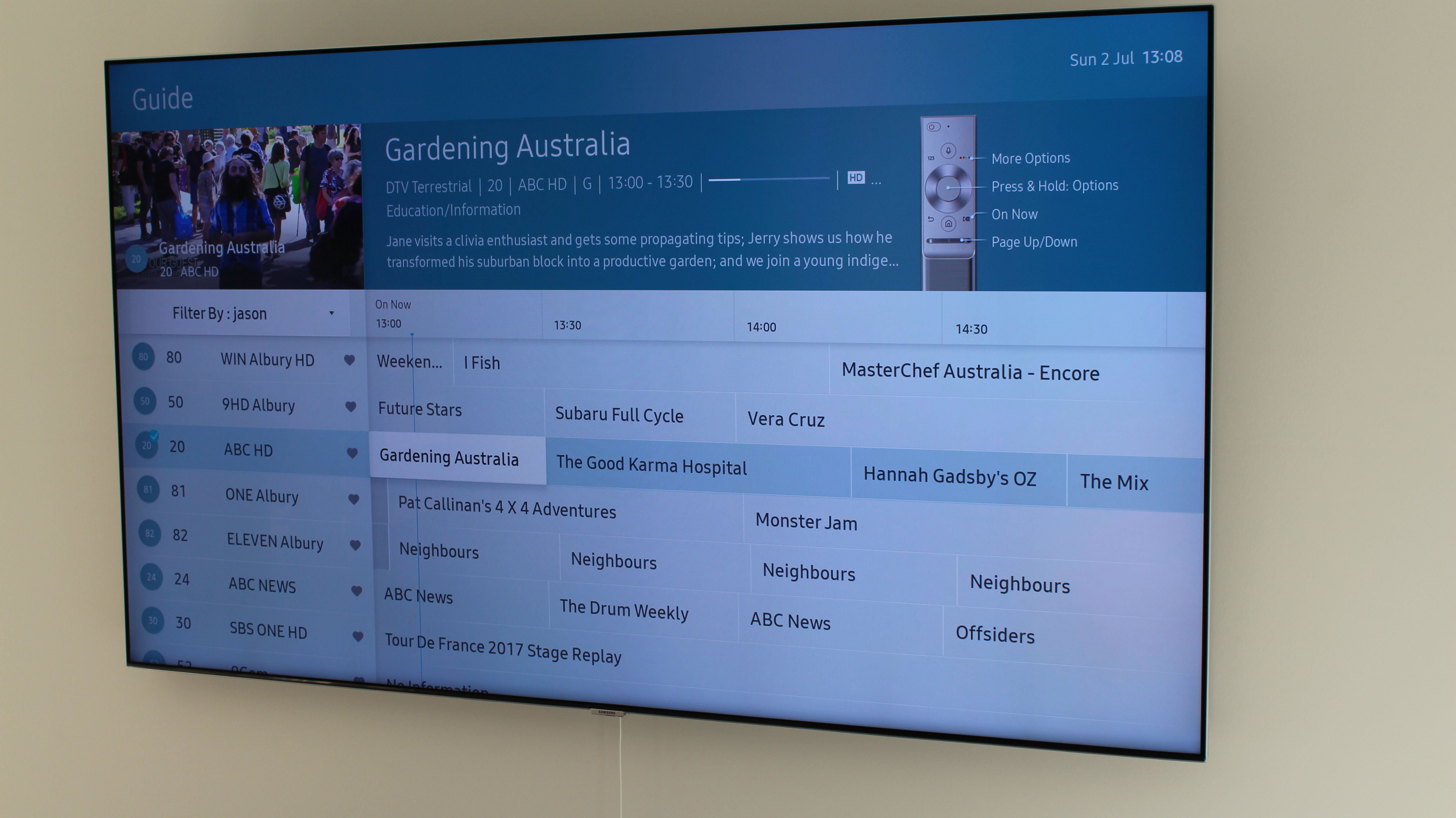 Review: Samsung Q7F 65″ QLED 4K TVReview: Samsung Q7F 65