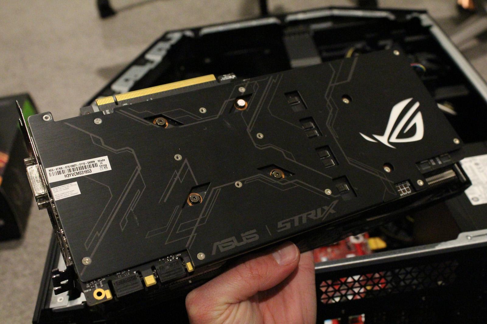 Review: ASUS GeForce GTX 1080 Ti ROG Strix Gaming 11GB GPU OC