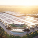 Elon Musk shares render of Gigafactory Berlin, bathed in sunshine…