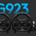 Logitech announces G923 Racing wheels, better force-feedback and LED shift…