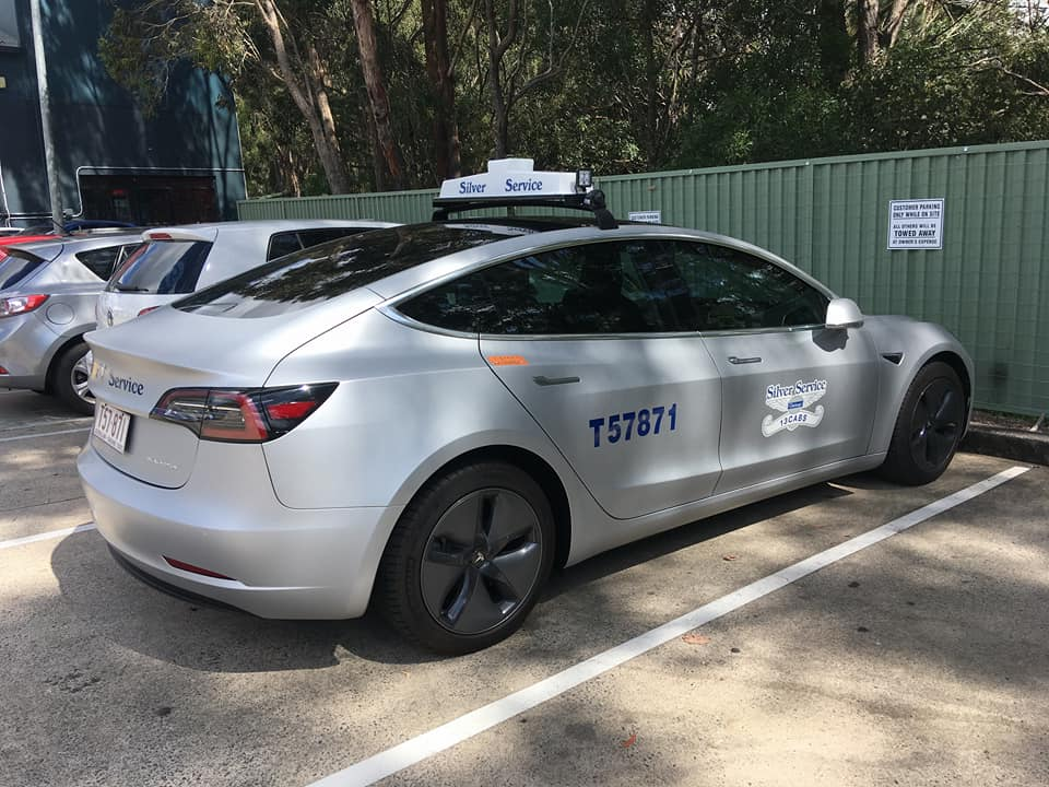 Is this Model 3 Australia's first official Tesla taxi ...