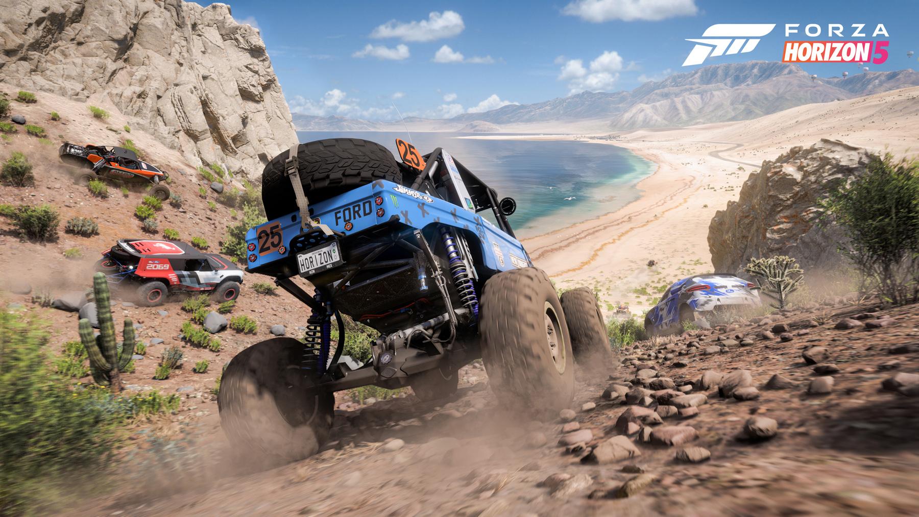 Forza Horizon 5 se roba el show en la apertura del E3, el 9 de noviembre