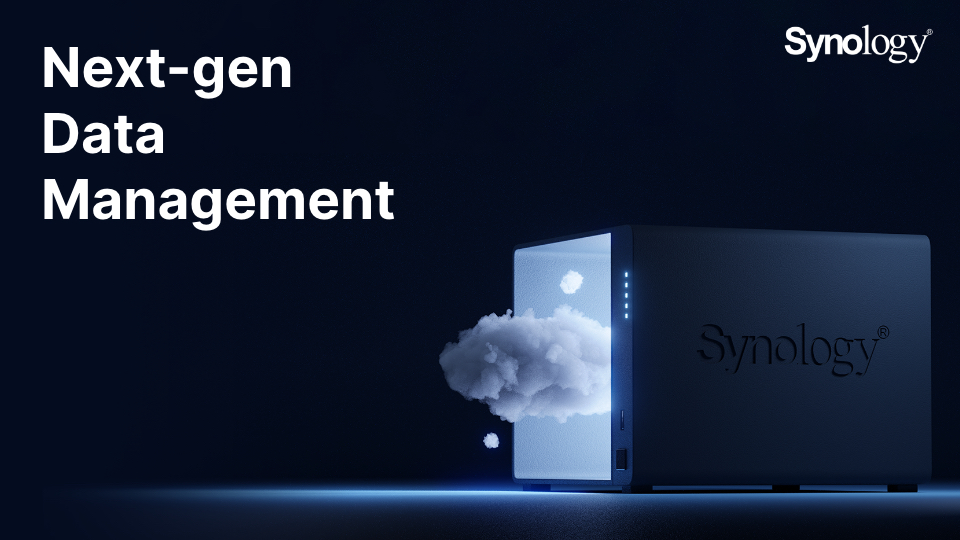Synology Press Release Image Launching DSM 7.0 and C2 cloud expansion 1
